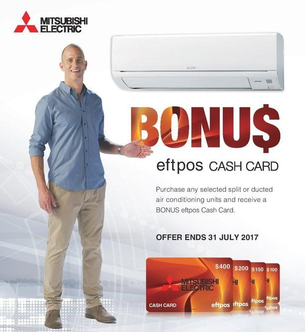split-system air conditioning promotion