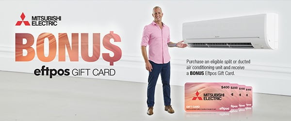 mitsubishi electric air conditioning promotion